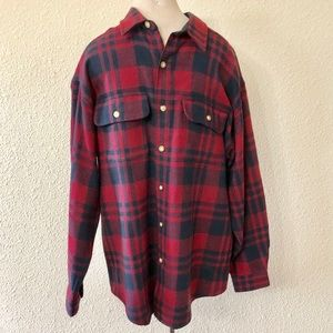 Specialty Collection Flannel Button Up Shirt